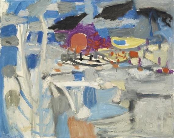 Tiefer Mond, 1957 - Max Gubler