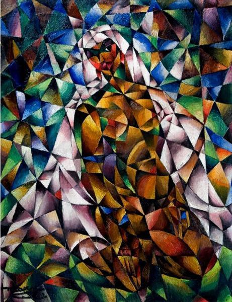 Nude with Veil, 1922 - М. Х. Максі