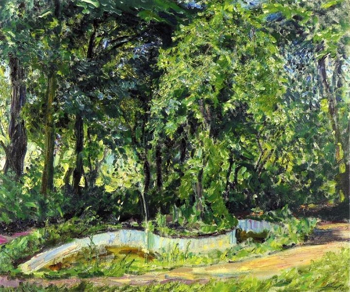 Park Landscape in the Palatinate, 1909 - Max Slevogt