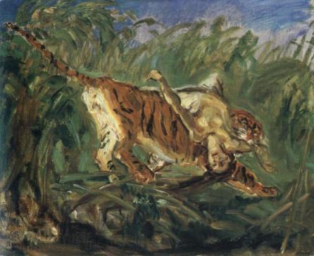 Tiger in the Jungle, 1917 - Max Slevogt