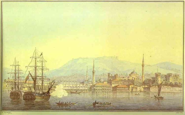 Smirna, 1820 - Maxim Nikiforowitsch Worobjow