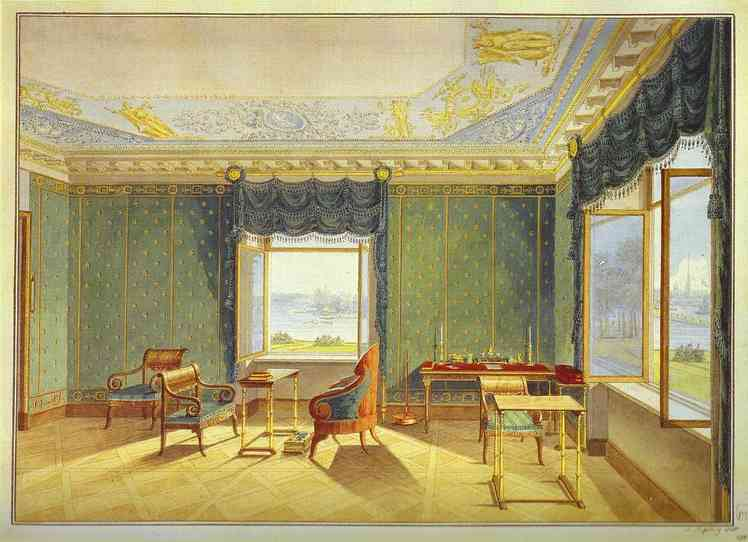 View from Window, 1821 - Maxim Vorobiev