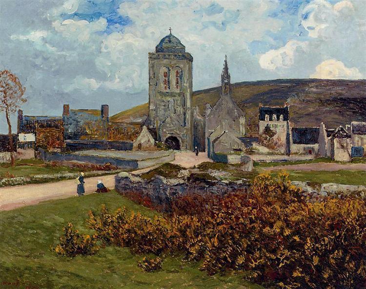 Breton Landscape, 1897 - Maxime Maufra