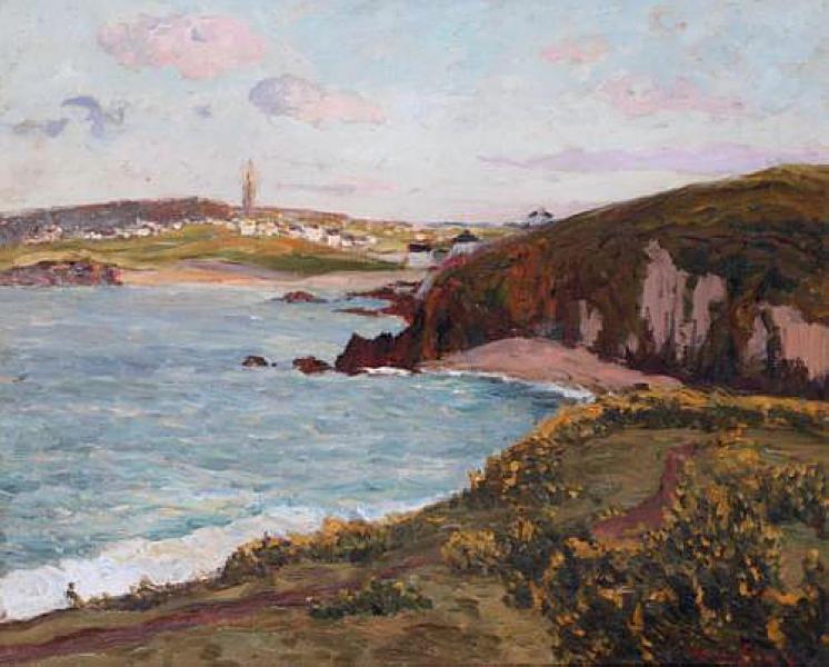 Landscape near Douarnenez, 1897 - Maxime Maufra