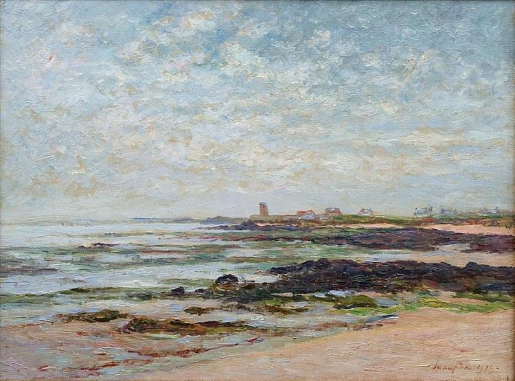 Low Tide, Baie de Quiberon, 1910 - Maxime Maufra