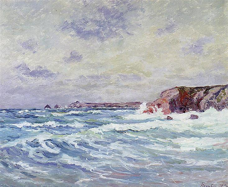 Port-Bara (Near the Ile de Quiberon), 1914 - Maxime Maufra