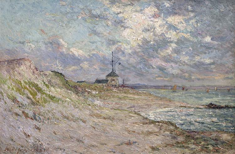 Semaphore of the Beg-Meil, Brittany, 1904 - Maxime Maufra