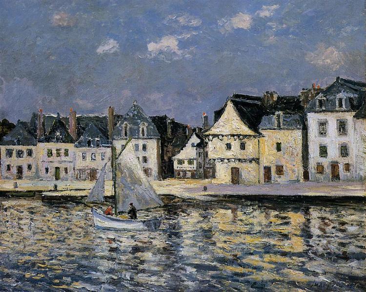 The Port of Saint Goustan, 1912 - Maxime Maufra