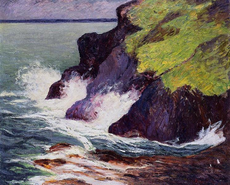 The Three Cliffs, 1894 - Maxime Maufra