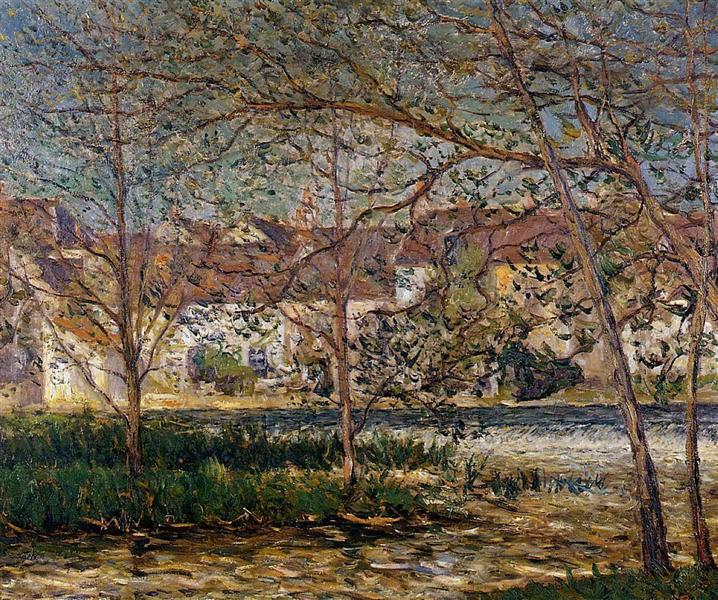 The Waterfall - Nemours - Maxime Maufra