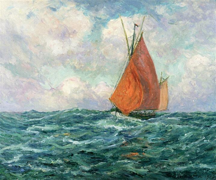 Tuna Boat at Sea, 1907 - Maxime Maufra