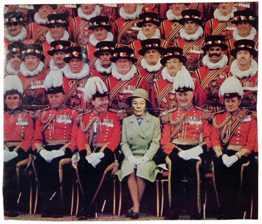 Ridiculous Portrait (Queen Elizabeth II), 1972 - May Wilson