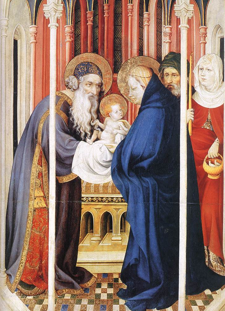The Presentation of Christ (from Altar of Philip the Bold), 1399