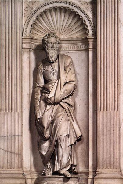 Святий Петро, 1504 - Мікеланджело