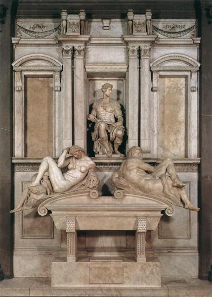 Tomb of Giuliano de Medici - Michelangelo