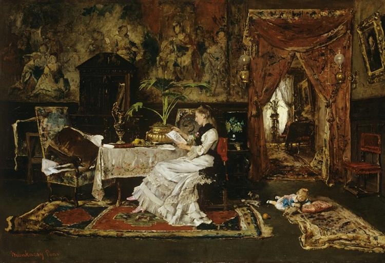 Paris Interior, 1877 - Mihaly Munkacsy