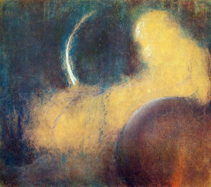 Night, c.1905 - Mikalojus Konstantinas Ciurlionis