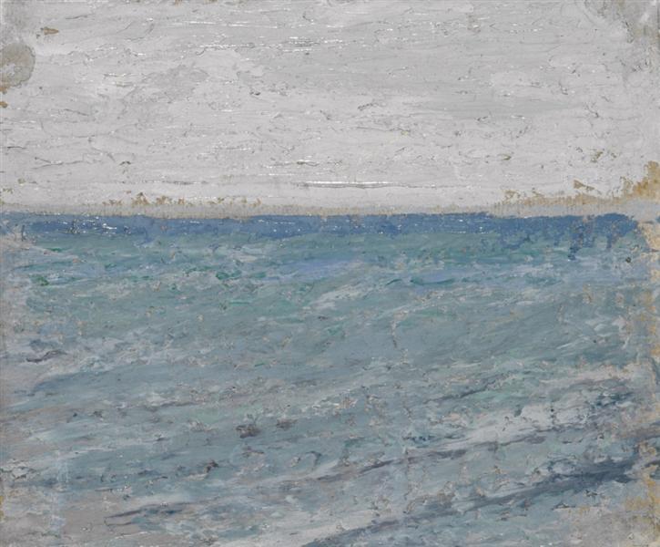 Sea etude, 1905 - Mikalojus Konstantinas Ciurlionis