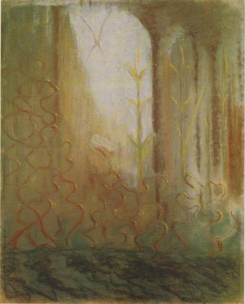 The worlds of Mars, 1905 - Mikalojus Konstantinas Ciurlionis