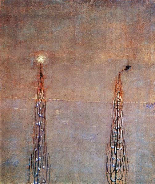 Winter (IV), 1907 - Mikalojus Konstantinas Ciurlionis