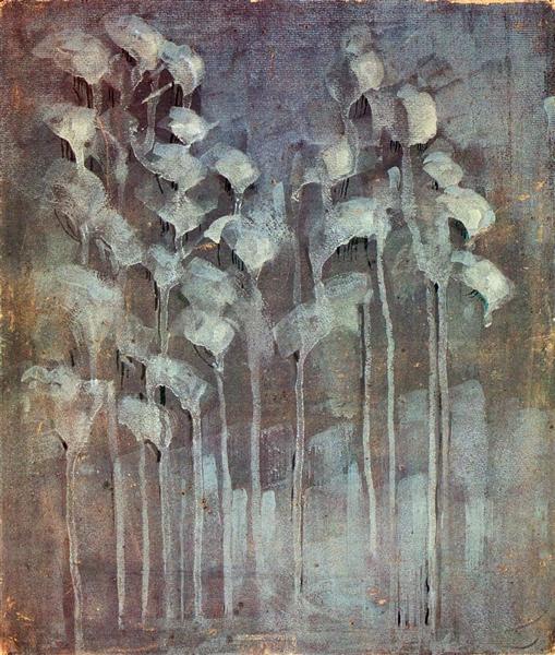 Winter (VI), 1907 - Mikalojus Konstantinas Ciurlionis