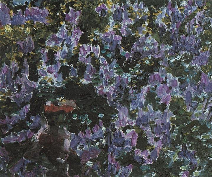 Lilacs, 1900 - Mikhail Vrubel