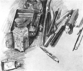 Pencils - Mikhail Vrubel