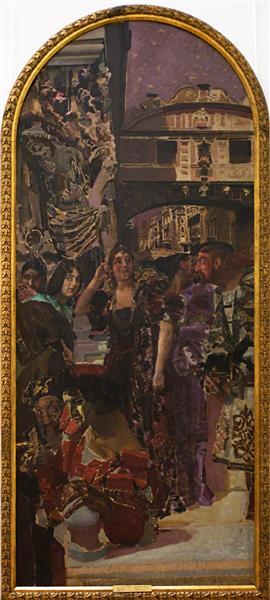 Venice, 1893 - Mikhail Vrubel