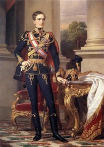 Portrait of Emperor Franz Joseph I - Miklós Barabás