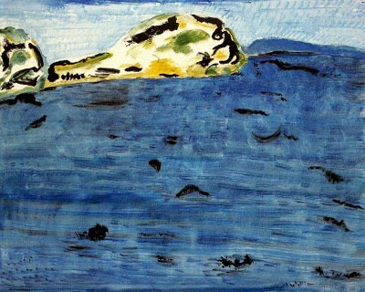 Blue Bay and Dunes, 1961 - Milton Avery