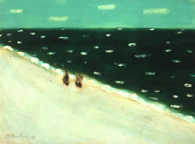 Green Sea - Milton Avery
