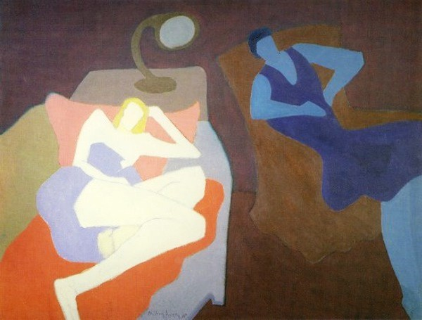 Two Women, 1950 - Milton Avery