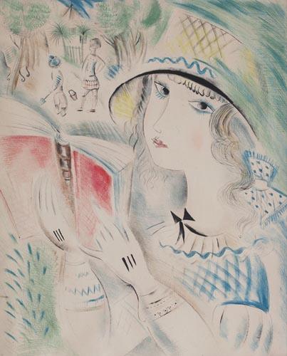 A la Plage, 1920 - Mily Possoz