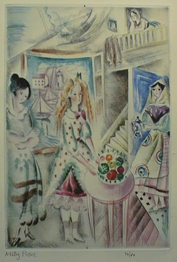 Intérieur d'Atelier, 1920 - Mily Possoz