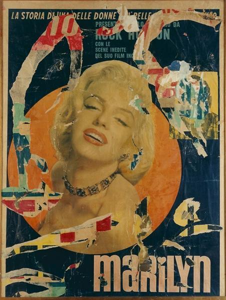 Marylin, 1963 - Миммо Ротелла