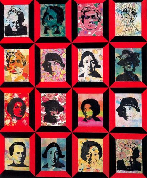Russian Matrix, 1994 - Miriam Schapiro