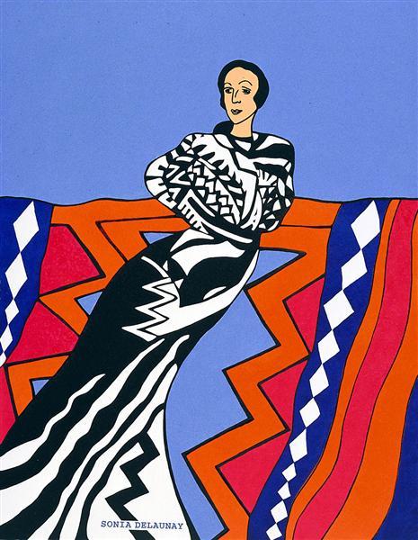 Sonia Delaunay, 1992 - Miriam Schapiro