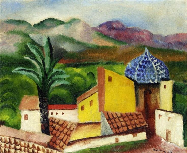 Sagunto, 1916 - Moise Kisling