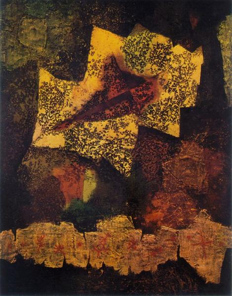 Testament of a Dead Leaf, 1959 - Mordecai Ardon
