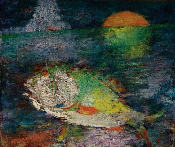 The Fish and the Moon - Mordecai Ardon