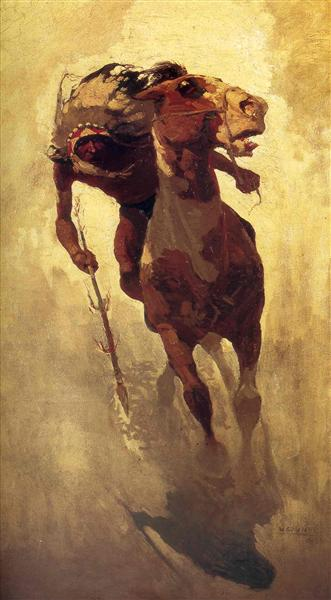 The Indian Lance - N.C. Wyeth