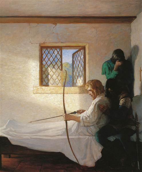 The Passing of Robin Hood, 1917 - N.C. Wyeth
