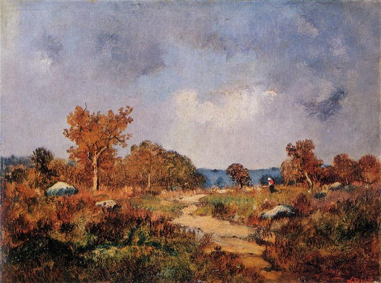 Autumn Landscape - Narcisso Virgilio Díaz de la Peña