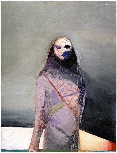 Standing Figure, 1970 - Nathan Oliveira
