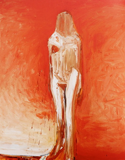 Untitled, Standing Figure, 1990 - Nathan Oliveira