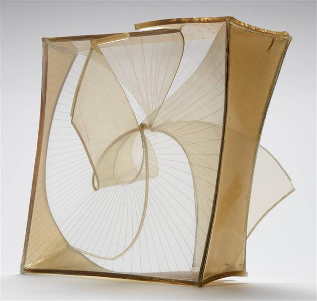 Construction in Space (Crystal), 1937 - 1939 - Naum Gabo