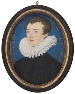 Francis Bacon, Viscount St Alban, 1578 - Nicholas Hilliard