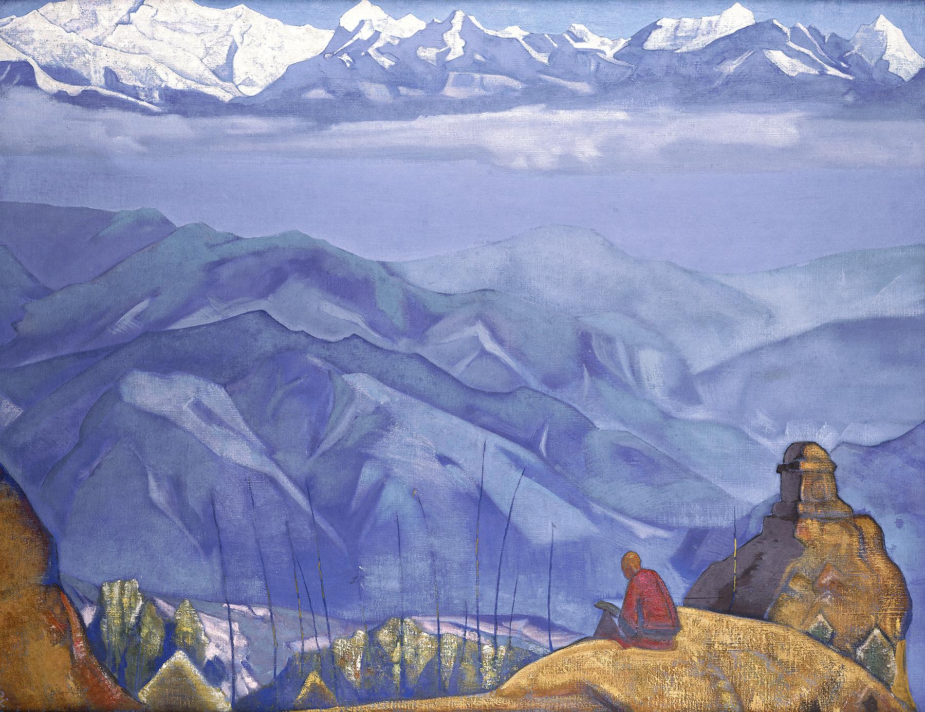 Book of Wisdom, 1924 - Nicholas Roerich - WikiArt.org