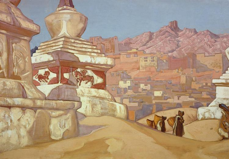 Horse of Happyness, c.1925 - Nicholas Roerich
