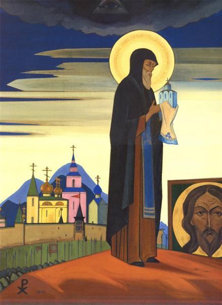 Sergius of Radonezh, 1932 - Nicholas Roerich